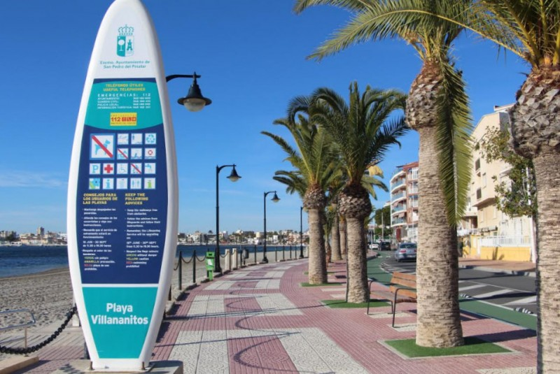 <span style='color:#780948'>ARCHIVED</span> - Improvements planned at seafront promenades in San Pedro del Pinatar