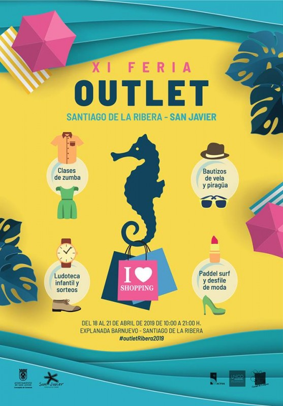 18th to 21st April 2019 Outlet Fair in Santiago de la Ribera