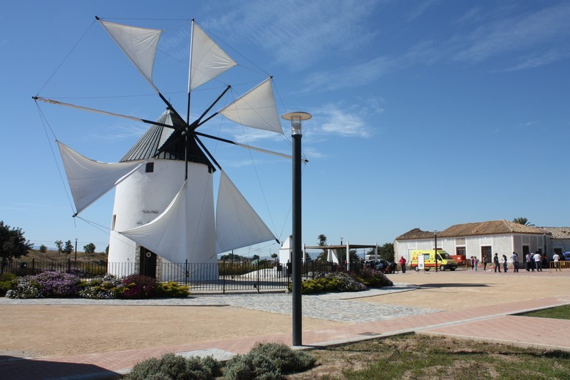 <span style='color:#780948'>ARCHIVED</span> - 22nd April Torre Pacheco:  Free guided tour of the El Pasico windmill