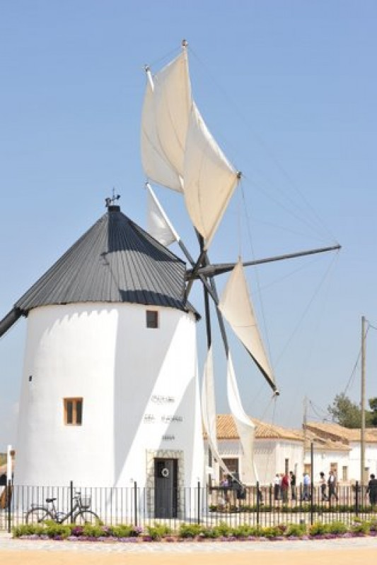 Saturday 27th April Free guided tour of the El Pasico windmill in Torre Pacheco