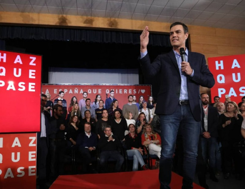 Politicians hit the campaign trail all over Spain