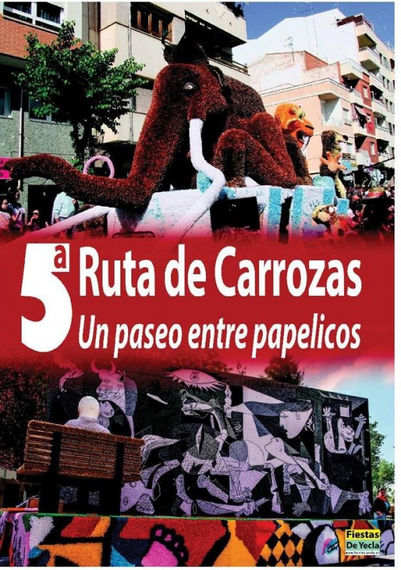 <span style='color:#780948'>ARCHIVED</span> - 22nd April to 5th May 2019 Visit the paper carriages of Yecla prior to the Fiestas of San Isidro