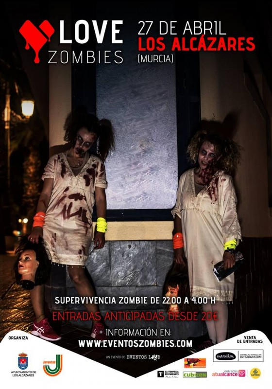 <span style='color:#780948'>ARCHIVED</span> - 27th April 2019; Zombies invade Los Alcázares