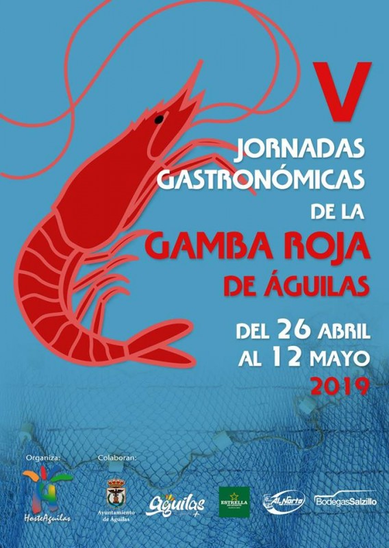 <span style='color:#780948'>ARCHIVED</span> - 26th April to 12th May: Special set menus in Águilas using local red prawns