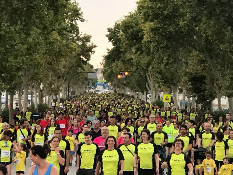 <span style='color:#780948'>ARCHIVED</span> - Saturday 6th July Aidemarcha San Javier: run 5km or walk 3km for the Mar menor charity Aidemar