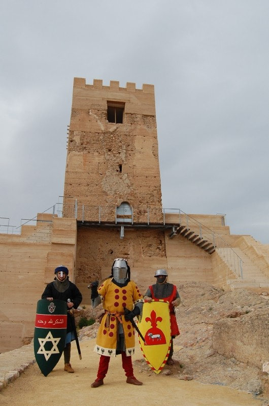 <span style='color:#780948'>ARCHIVED</span> - 11th and 12th May May Free guided tours of Alhama de Murcia castle: prior booking required