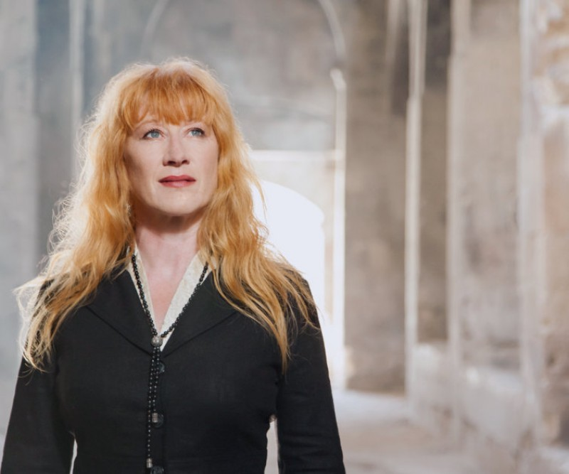4th July, open-air Loreena McKennitt concert in the Malecón gardens in Murcia