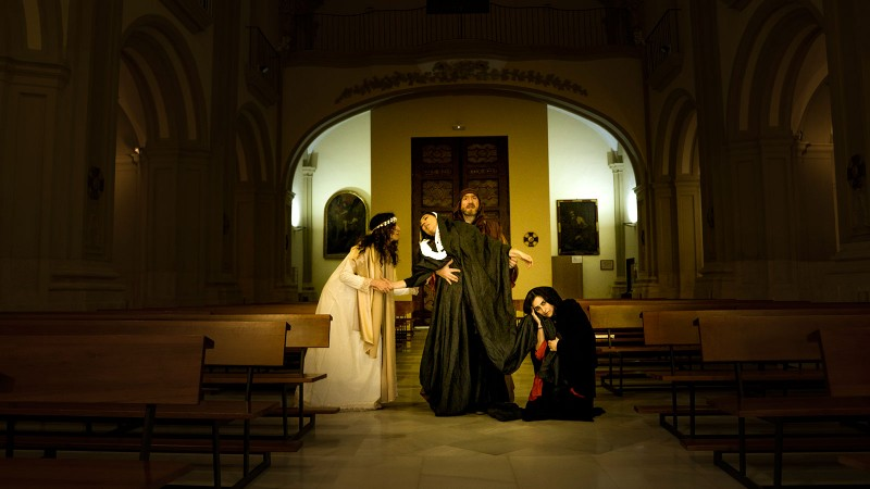 <span style='color:#780948'>ARCHIVED</span> - Wednesday 15th May; Free entry 16th century religious drama; MTC
