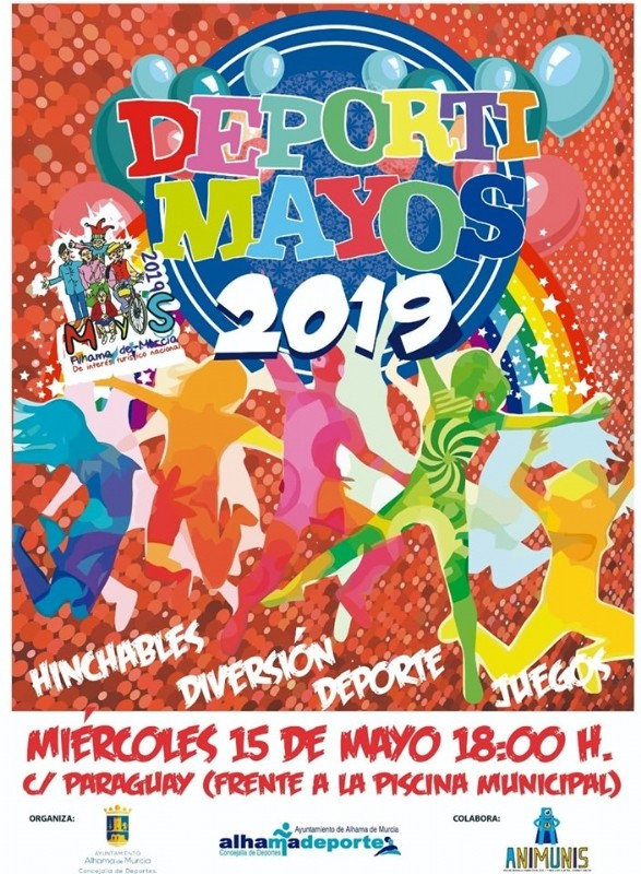 <span style='color:#780948'>ARCHIVED</span> - 13th to 19th May Alhama de Murcia What's on programme