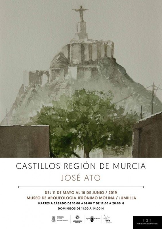 <span style='color:#780948'>ARCHIVED</span> - Jumilla to 16th June: Castles of the Region of Murcia by José Ato