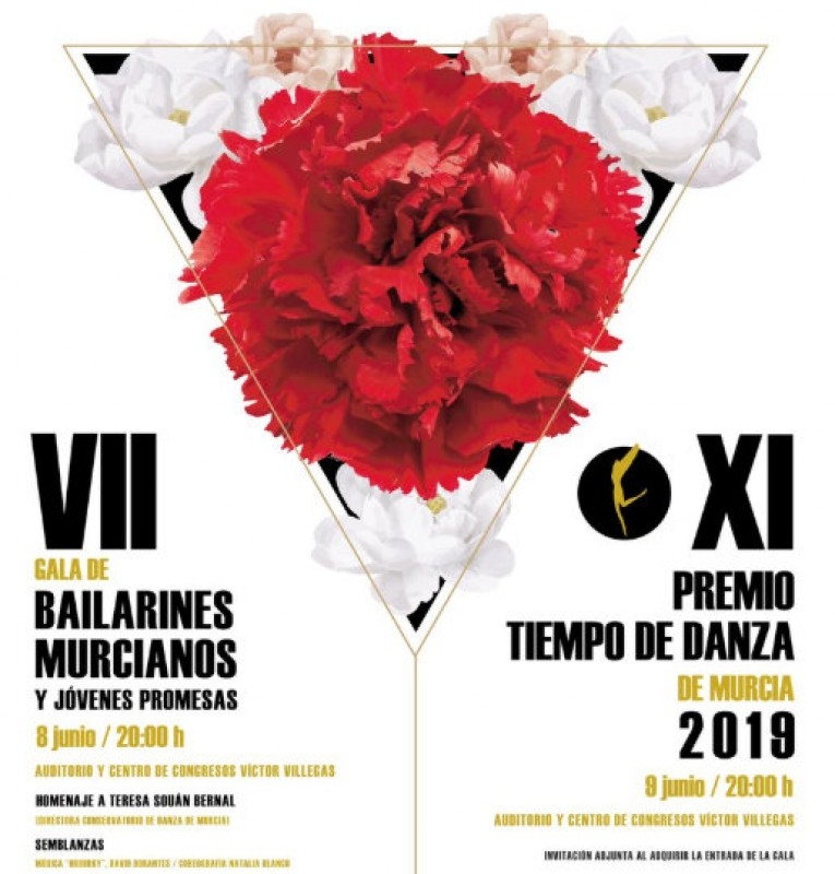 <span style='color:#780948'>ARCHIVED</span> - 8th June, Murcia dance gala at the Auditorio Víctor Villegas