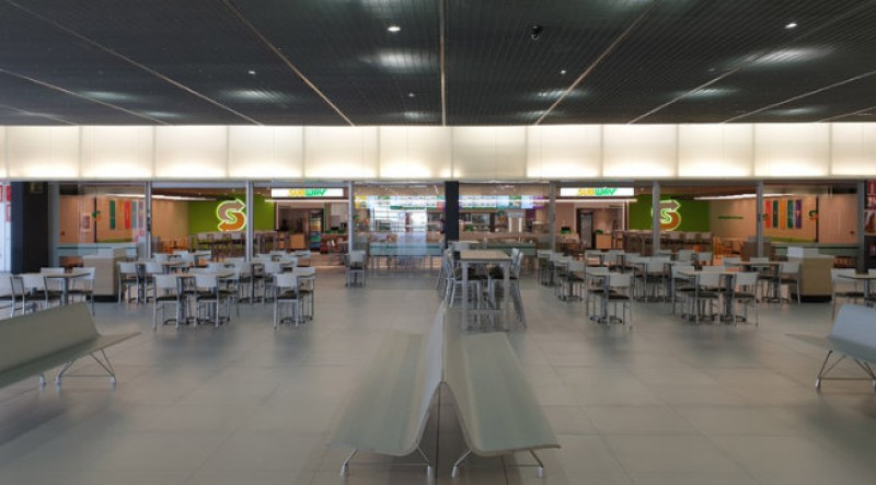 The new restaurant in Corvera airport is one of the largest Subways in Europe