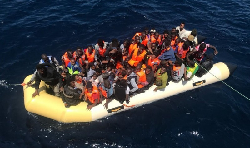Migrant baby missing in the Atlantic off Gran Canaria