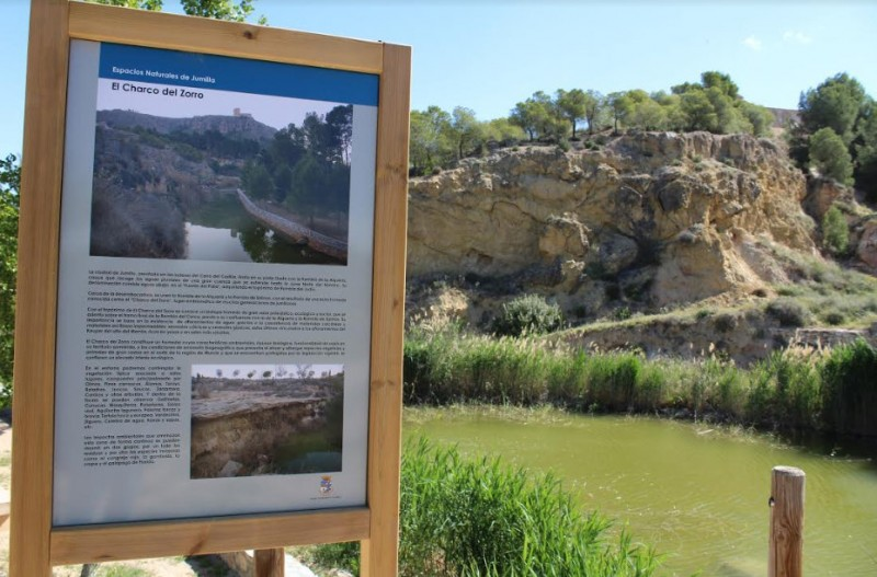 <span style='color:#780948'>ARCHIVED</span> - Improvements and repairs completed at the Charco del Zorro beauty spot in Jumilla