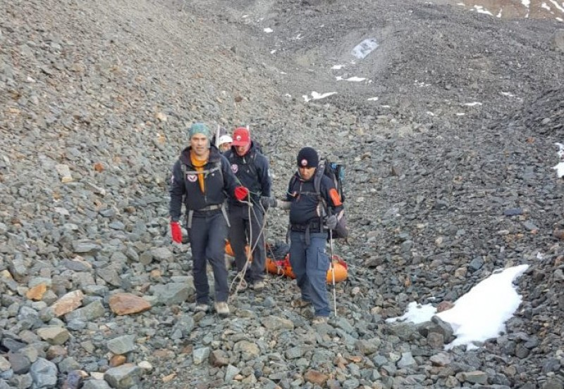 <span style='color:#780948'>ARCHIVED</span> - Mummified body of Spanish mountaineer recovered in the Andes 29 years after his death