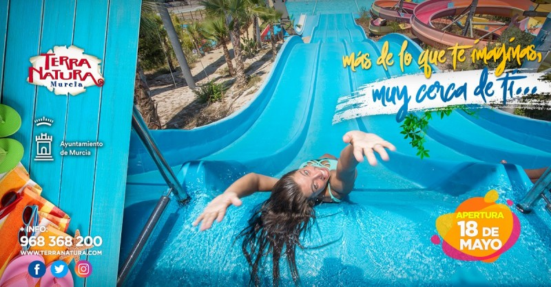 <span style='color:#780948'>ARCHIVED</span> - Waterpark open at Terra Natura Murcia; pay once and go back free again offer!
