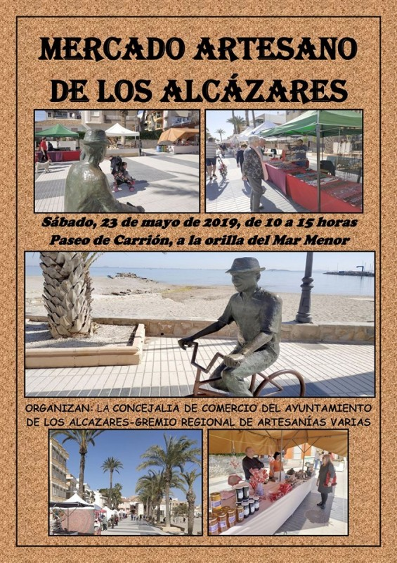 Saturday 25th May Artisan Market in Los Alcázares
