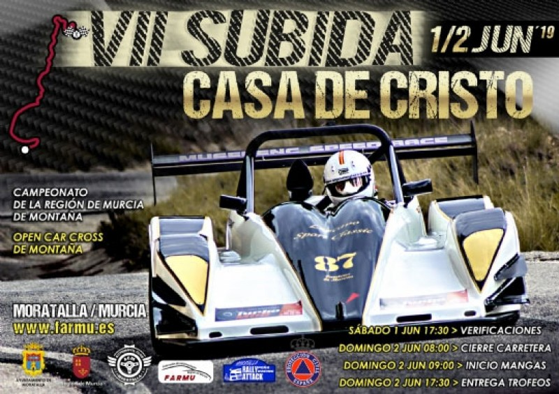 <span style='color:#780948'>ARCHIVED</span> - 1st and 2nd June 2019 Moratalla rally sprint; VII Subida Automovilistica a Casa de Cristo