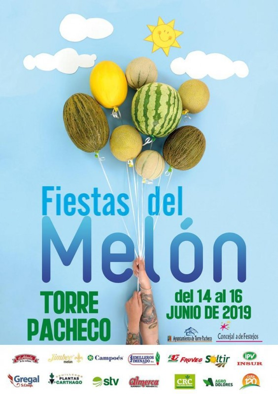 <span style='color:#780948'>ARCHIVED</span> - 14th to 16th June Fiestas del Melon in Torre Pacheco