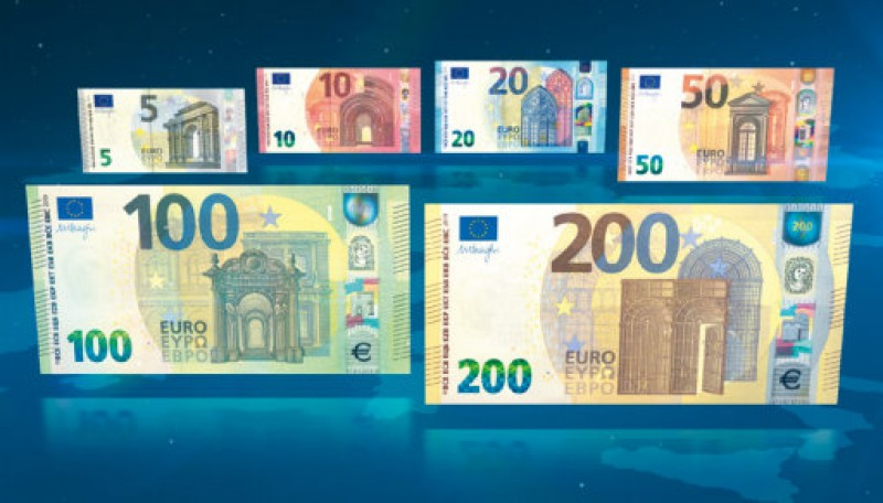 <span style='color:#780948'>ARCHIVED</span> - New 100- and 200-euro notes now in circulation