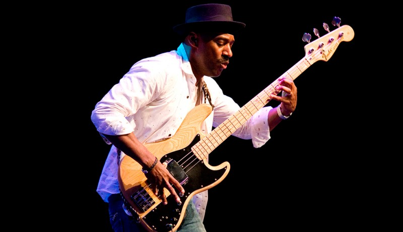 <span style='color:#780948'>ARCHIVED</span> - July 19th Marcus Miller, Roberta Gambarini at the San Javier Jazz Festival