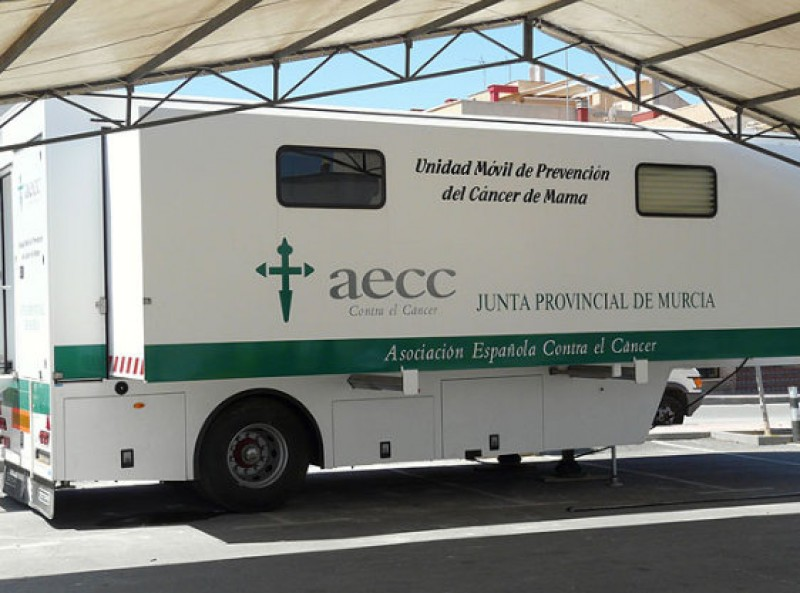 27th June, breast cancer scanning campaign in Mazarrón