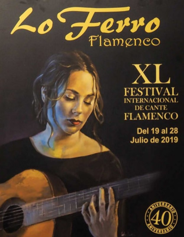 <span style='color:#780948'>ARCHIVED</span> - 19th to 28th July, 40th annual flamenco festival of Lo Ferro in Torre Pacheco