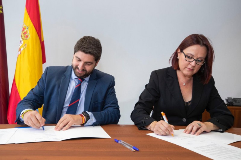 PP-Ciudadanos coalition government agreed on in Murcia