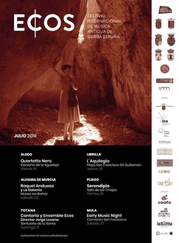 19th to 27th July, ECOS Sierra Espuña Early Music Festival