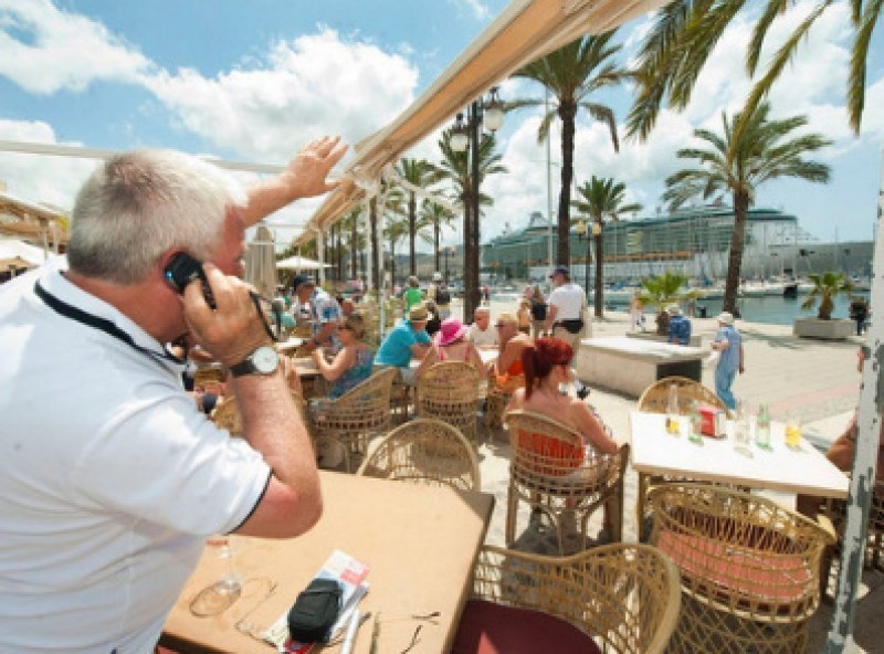 <span style='color:#780948'>ARCHIVED</span> - Foreign visitor numbers up in Spain for the eighth month in a row in April