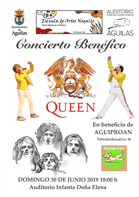 Sunday 30th June Águilas charity fundraising concert
