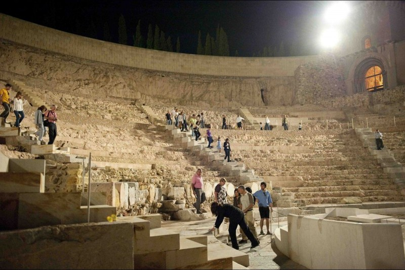 <span style='color:#780948'>ARCHIVED</span> - 15th, 22nd, 29th June, night time visits to the Roman Theatre in Cartagena