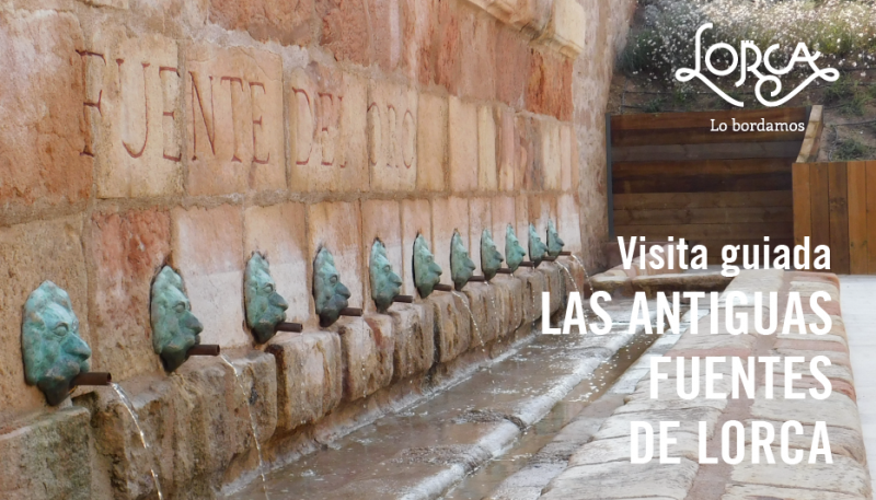 29th June Lorca: learn about the historic fountains of Lorca in this guided tour