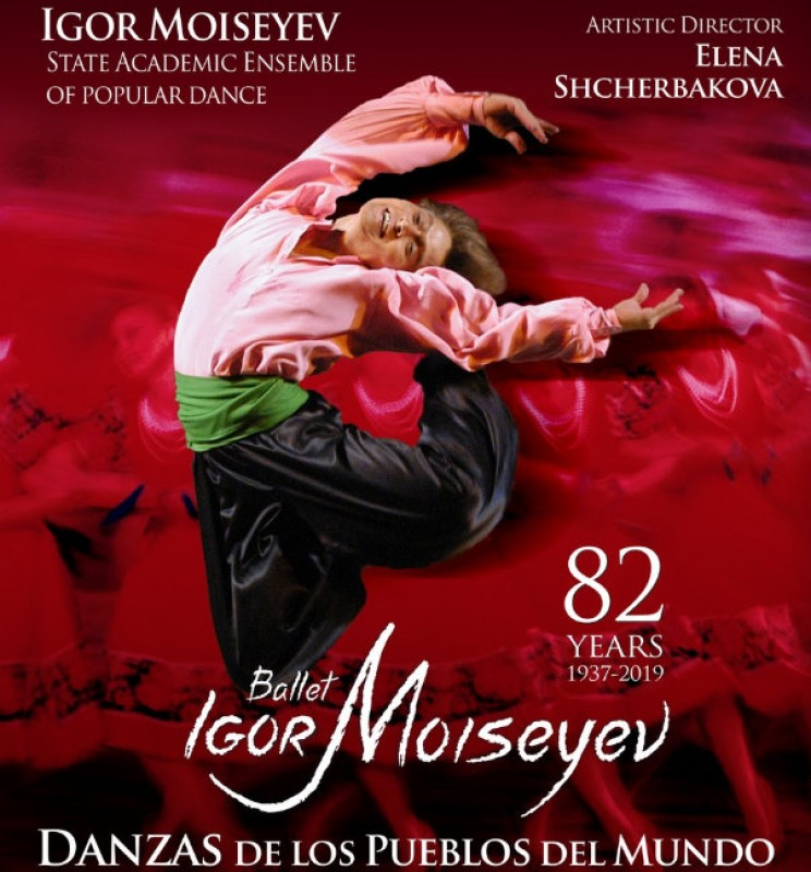 <span style='color:#780948'>ARCHIVED</span> - 26th November, the Igor Moiseyev Ballet at the Auditorio Víctor Villegas in Murcia