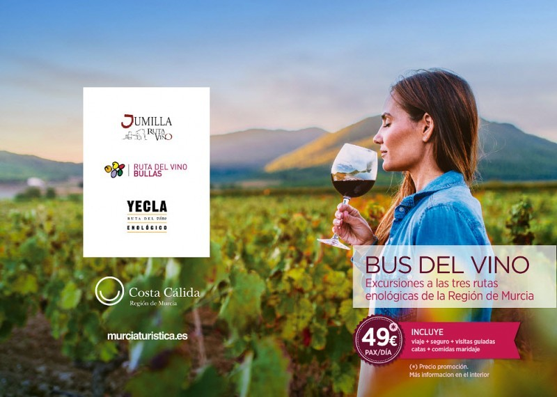 <span style='color:#780948'>ARCHIVED</span> - 22nd June The Murcia Wine Bus visits the Ruta del Vino in Yecla