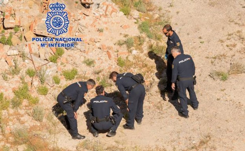 Three unexploded shells found and deactivated in Murcia