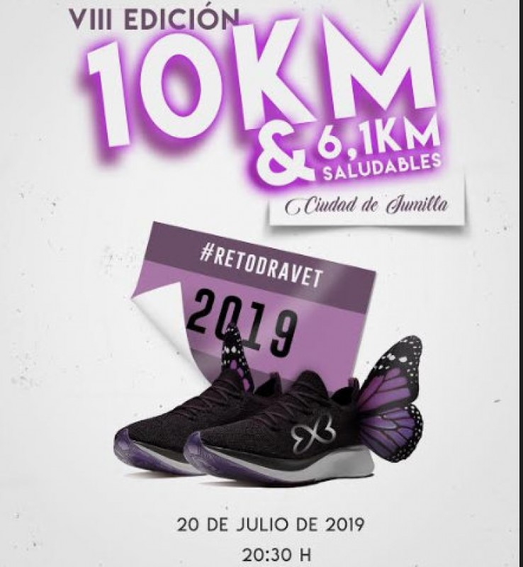 <span style='color:#780948'>ARCHIVED</span> - 20th July, 10-k and 6.1-k charity running races in Jumilla