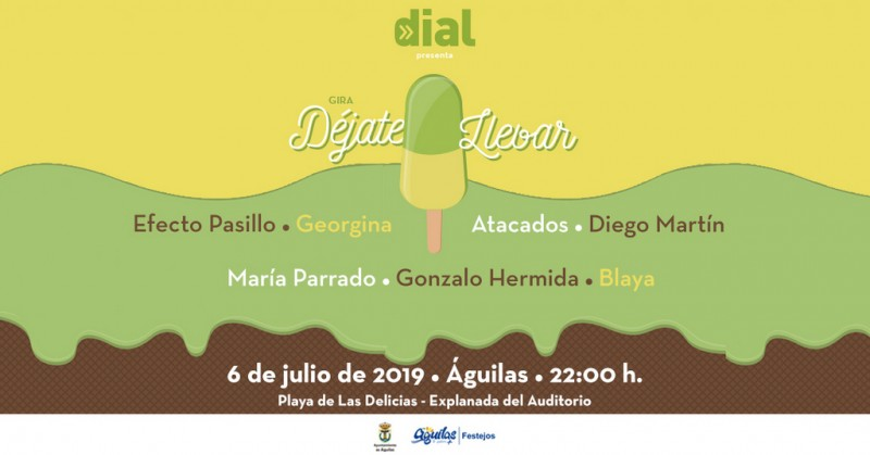 <span style='color:#780948'>ARCHIVED</span> - Saturday 6th July Águilas: Free beach party with live music courtesy of the Cadena Dial national tour