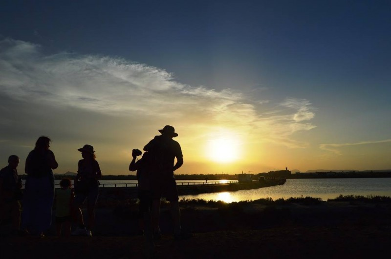 Friday 16th August free guided 9km moonlit walk in San Pedro del Pinatar