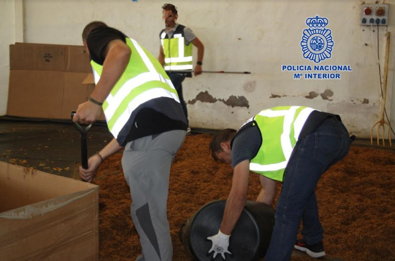 <span style='color:#780948'>ARCHIVED</span> - 20,000 kilos of illegal tobacco confiscated in Murcia and Molina de Segura