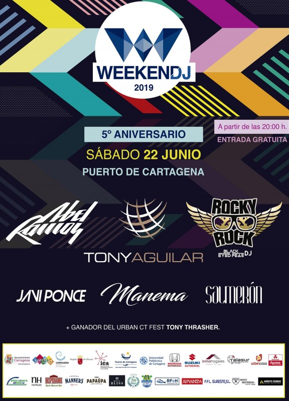<span style='color:#780948'>ARCHIVED</span> - 22nd June free dance with Weekend DJ in Cartagena