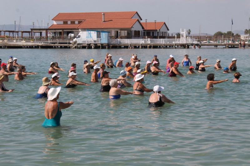<span style='color:#780948'>ARCHIVED</span> - July and August, FREE summer fitness activities on the beaches of Los Alcázares summer 2019