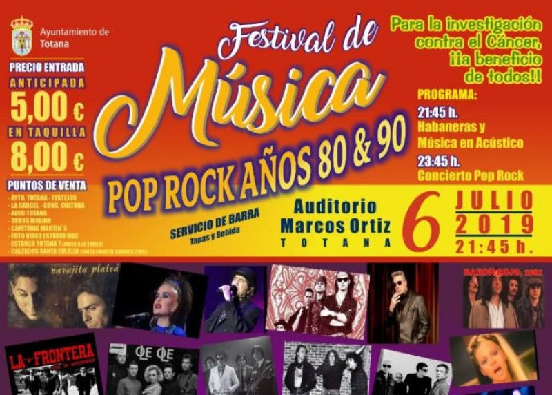 Murcia Today - 6th July, 80s And 90s Music Festival In Totana