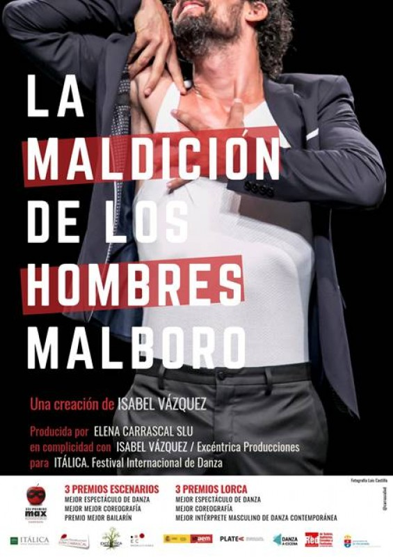 <span style='color:#780948'>ARCHIVED</span> - Saturday 5th October Dance in Águilas; La Maldición de los Hombres Malboro