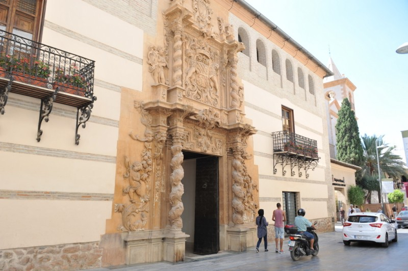 Saturday 17th August Lorca: Free evening guided tour of historical Lorca city centre
