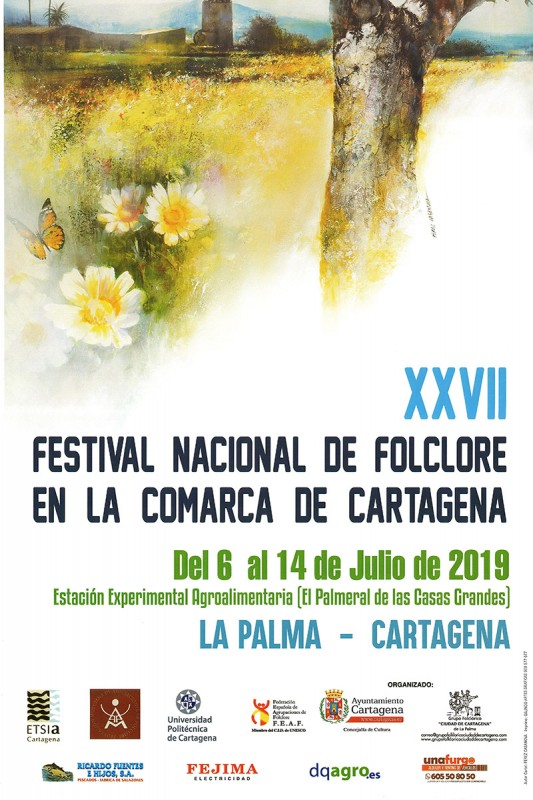 <span style='color:#780948'>ARCHIVED</span> - 6th to 13th July, free entry at the annual folk music and dancing festival in La Palma (Cartagena)