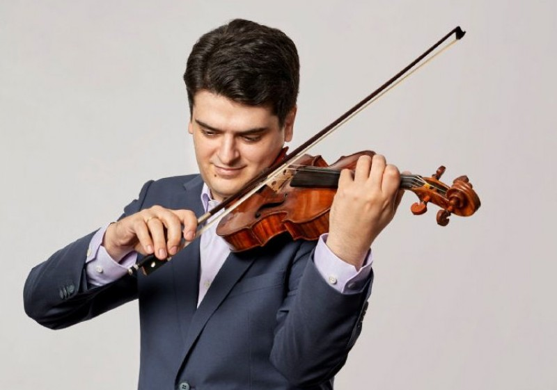 <span style='color:#780948'>ARCHIVED</span> - POSTPONED:13th March 2020 violinist Michael Barenboim and the Turin Radio Orchestra at the Auditorio Víctor Villegas in Murcia