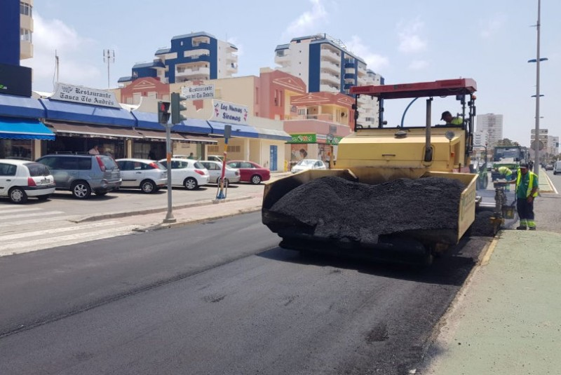 <span style='color:#780948'>ARCHIVED</span> - Roadworks disrupt La Manga traffic in the first week of July