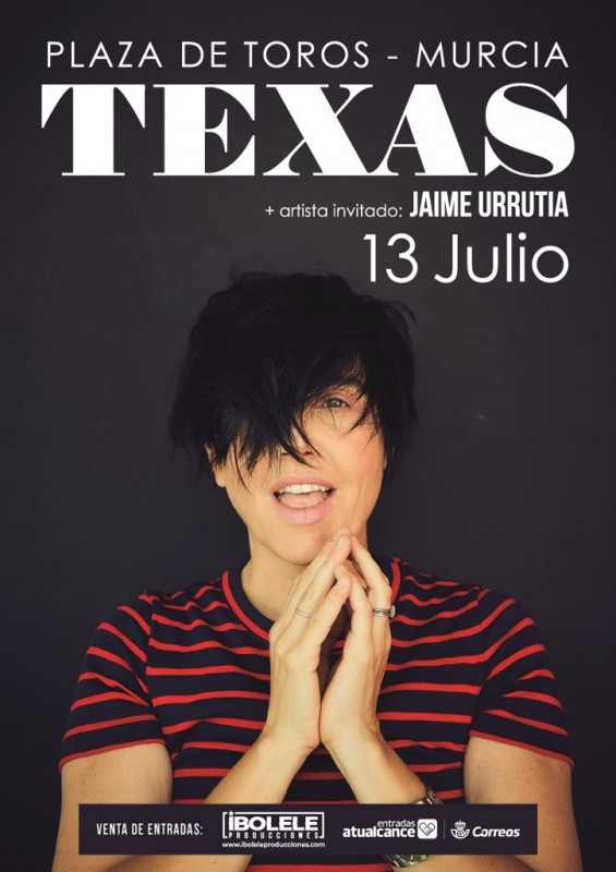 <span style='color:#780948'>ARCHIVED</span> - 13th July Murcia city: Texas in concert