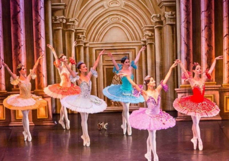 7th January 2020 Sleeping Beauty by the Saint Petersburg Ballet at the Auditorio Víctor Villegas in Murcia